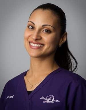 Joami a dental assistant at DeJesus Dental